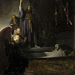 Los Angeles County Museum of Art (LACMA) - Rembrandt Harmensz. van Rijn - The Raising of Lazarus