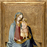 Los Angeles County Museum of Art (LACMA) - Master of the Bargello Judgment of Paris - Madonna and Child