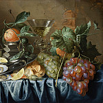 Jan Davidsz de Heem – Still Life with Oysters and Grapes, Los Angeles County Museum of Art (LACMA)