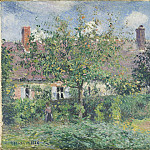 Peasant House at Eragny, Camille Pissarro