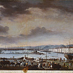 Los Angeles County Museum of Art (LACMA) - Juan Patricio Morlete Ruiz - View of the Old Port of Toulon (El puerto viejo de Tolon)