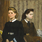 Los Angeles County Museum of Art (LACMA) - Edgar Degas - The Bellelli Sisters (Giovanna and Giuliana Bellelli)