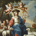 Los Angeles County Museum of Art (LACMA) - Miguel Cabrera - The Divine Shepherdess (La divina pastora)