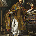 Philippe de Champaigne – Saint Augustine, Los Angeles County Museum of Art (LACMA)