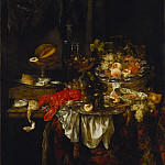 Abraham van Beyeren – Banquet Still Life, Los Angeles County Museum of Art (LACMA)