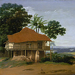 Frans Post – Brazilian Landscape with a Worker′s House, Los Angeles County Museum of Art (LACMA)