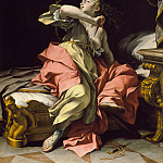 Ludovico Mazzanti – The Death of Lucretia, Los Angeles County Museum of Art (LACMA)