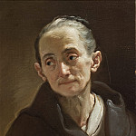 Ubaldo Gandolfi – Head of an Old Woman, Los Angeles County Museum of Art (LACMA)