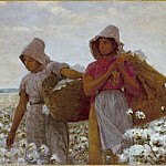 Los Angeles County Museum of Art (LACMA) - Winslow Homer - The Cotton Pickers