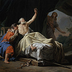 Nicolas-Guy Brenet – Isaac Blessing Jacob, Los Angeles County Museum of Art (LACMA)