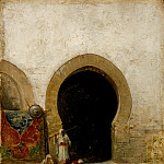 At the Gate of the Seraglio, Jose Maria Bernardo Fortuny Y Carbo Mariano