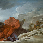 Jean-Honore Fragonard – Winter, Los Angeles County Museum of Art (LACMA)