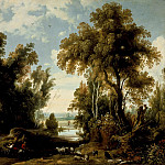 Los Angeles County Museum of Art (LACMA) - Jan Wildens - Landscape with Peasants