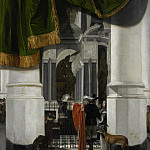 Los Angeles County Museum of Art (LACMA) - Emmanuel de Witte - Interior of the Nieuwe Kerk in Delft with the Tomb of William the Silent