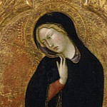 Los Angeles County Museum of Art (LACMA) - Bartolo di Fredi - The Virgin of the Annunciation