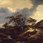 Landscape with Dunes, Jacob Van Ruisdael