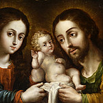 Nicolas Rodriguez Juarez – The Holy Family , Los Angeles County Museum of Art (LACMA)