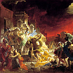 BRYULLOV Karl - The Last Days of Pompeii, 900 Classic russian paintings