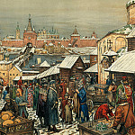 Vasnetsov Apollinary - Novgorod bargaining, 900 Classic russian paintings