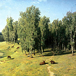 900 Classic russian paintings - Vladimir Orlovsky - Summer Day