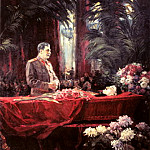900 Classic russian paintings - Portraits of Stalin - Alexander Gerasimov. 3