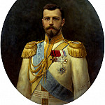 900 Classic russian paintings - GALKIN Ilya - Nicholas II