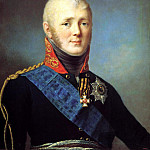 SHCHUKINA Stepan - Portrait of Alexander I, 900 Classic russian paintings