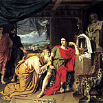 Ivan Alexander - Priam, Achilles sought from the body of Hector, 900 Classic russian paintings