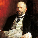 Ilya Repin - Portrait of Stolypin, 900 Classic russian paintings