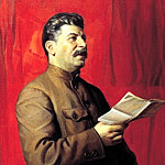 900 Classic russian paintings - Portraits of Stalin - Isaac Brodsky. 1