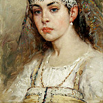 900 Classic russian paintings - MAKOVSKY Constantine - young ladies