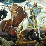900 Classic russian paintings - Viktor Vasnetsov - Warriors of the Apocalypse