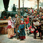 900 Classic russian paintings - SAVITSKY Constantine - At War