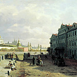900 Classic russian paintings - VERESHCHAGIN Peter - Type of the Moscow Kremlin