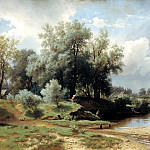 Brick Leo - landscape, 900 Classic russian paintings