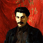 Portraits of Stalin - Abel Levitan, 900 Classic russian paintings