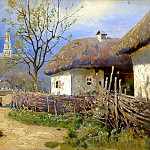 Vasilkovsky Sergey - Poltava, 900 Classic russian paintings