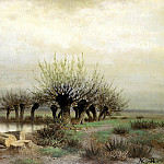Brick Leo - Spring, 900 Classic russian paintings