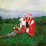 900 Classic russian paintings - Konstantin Korovin - Northern Idyll