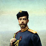 900 Classic russian paintings - Manizer Henry - Emperor Nicholas II with the Order of St. Vladimir