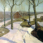 900 Classic russian paintings - Purva Wilhelm - Last Snow