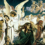 900 Classic russian paintings - Viktor Vasnetsov - Joy of the Lord the righteous