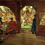 900 Classic russian paintings - MAXIMOV Alex - at the service of the Emperor