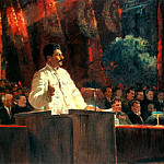 900 Classic russian paintings - Portraits of Stalin - Alexander Gerasimov