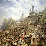 900 Classic russian paintings - MAKOVSKY Constantine - Appeal Minin