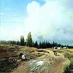 900 Classic russian paintings - Fedor Vasiliev - After the Storm