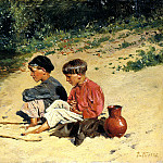 900 Classic russian paintings - Makovsky Vladimir - fisher