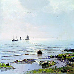 DUBOVSKAYA Nick - Lake Ladoga, 900 Classic russian paintings