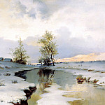 900 Classic russian paintings - ENDOGUROV Ivan - Early Spring