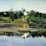 900 Classic russian paintings - Kryzhitsky Constantine - Zvenigorod